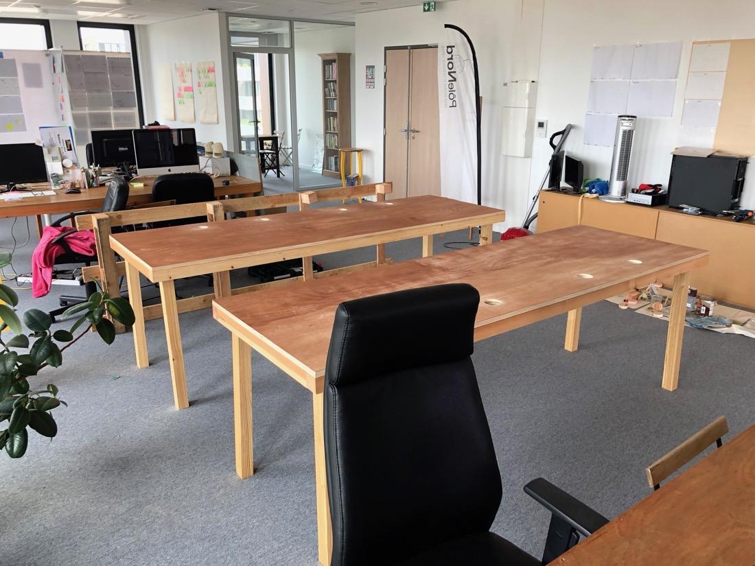 Nouveaux bureaux quasi-finis